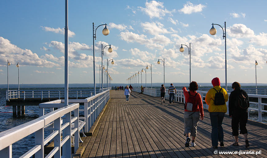 Jurata nad Morzem Bałtyckim